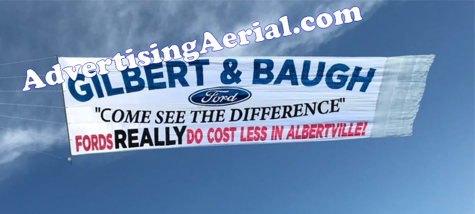 aerial advertising banner towing & helicopter banners